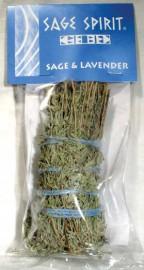 Sage & Lavender Smudge Stick  5
