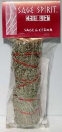 Sage & Cedar Smudge Stick 7