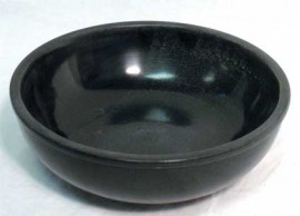 Black Stone Scrying Bowl  6