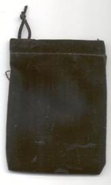 Black Velveteen Bag  (3
