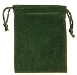 Green Velveteen Bag  (3