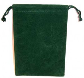 Green Velveteen Bag  (4