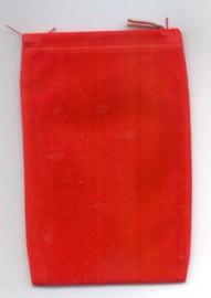 Red Velveteen Bag  (4