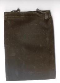 Black Velveteen Bag  (5