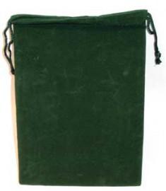 Green Velveteen Bag  (5