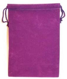 Purple Velveteen Bag  (5