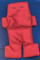 Red Voodoo Doll  (5