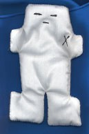 White Voodoo Doll  (5