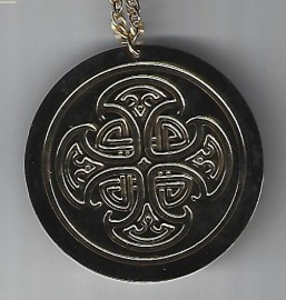 Solar Cross Brass