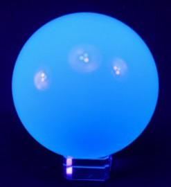 76mm Aqua UV Acrylic Ball (2.99 inch)