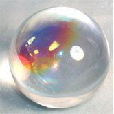 Aurora Crystal Ball (60mm) 2.36 inches in Diameter