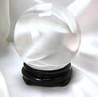 4 in round Crystal Ball (110mm) - Clear