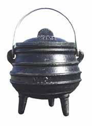 Cast Iron Cauldron  Midi