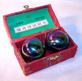 Therapy ball 35mm - Rainbow - 2 ball set