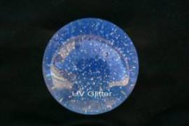 76mm Glitter UV Acrylic Ball (2.99  inch)