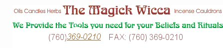 Colognes, Perfumes, Soaps - Welcome to The Magick Wicca