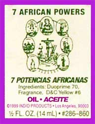 SEVEN AFRICAN POWERS - Welcome to The Magick Wicca